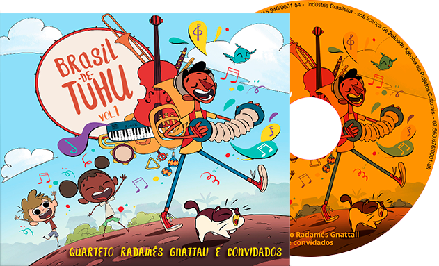 CD Brasil de Tuhu – Vol. 1